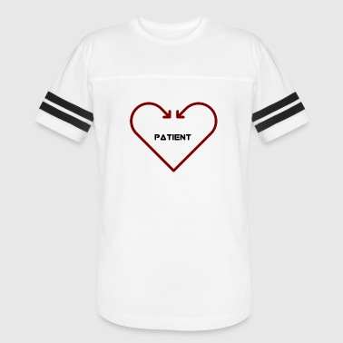 Love Is Patient Love is Patient - Vintage Sport T-Shirt