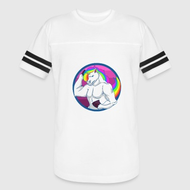 Muscle Dad Unicorn Muscle - Vintage Sport T-Shirt