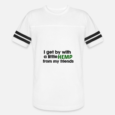 Hemp Geek Hemp for Friends - Vintage Sport T-Shirt