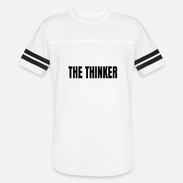 Thinkers The thinker - Unisex Vintage Sport T-Shirt