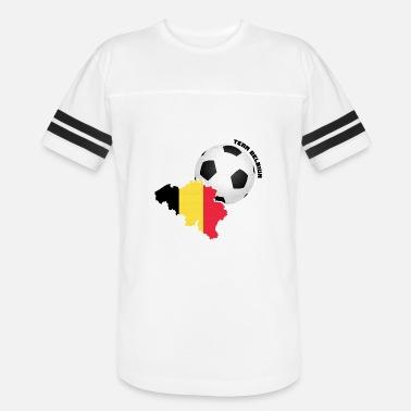 7469122187e Belgian Soccer Team Belgium Soccer Fan Shirt Hoodie - Unisex Vintage Sport  T-Shirt