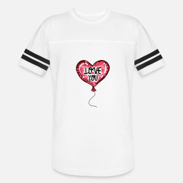 Baloon Kids Love you t-shirt. Heart balloon print design - Vintage Sport T-Shirt