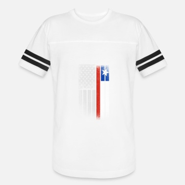 Gift For Chilean Chilean American Flag - Unisex Vintage Sport T-Shirt