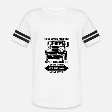 Black Lives Matter Chicago Tow Lives Matter Slow Down Move Over T Shirt - Vintage Sport T-Shirt