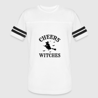 Cheer Halloween Cheers Witches Halloween - Vintage Sport T-Shirt