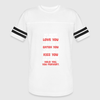 Heart Made With Hands My Heart Is Made To Love You... - Vintage Sport T-Shirt