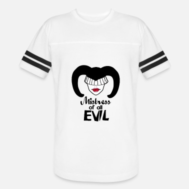 Slave Mistress Mistress of all Evil - Vintage Sport T-Shirt