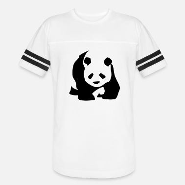 Amazon I Love panda - Unisex Vintage Sport T-Shirt