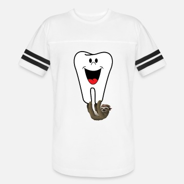 Tooth Dentist Dentist Tooth Sloth - Vintage Sport T-Shirt