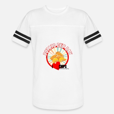 National Day National Potato Chip Day - Vintage Sport T-Shirt