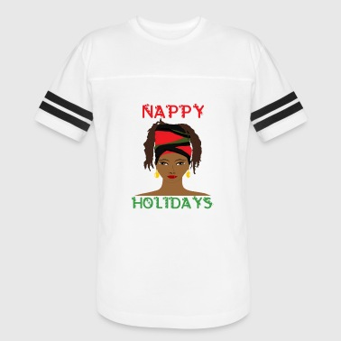 Nappy Holidays Locs - Vintage Sport T-Shirt