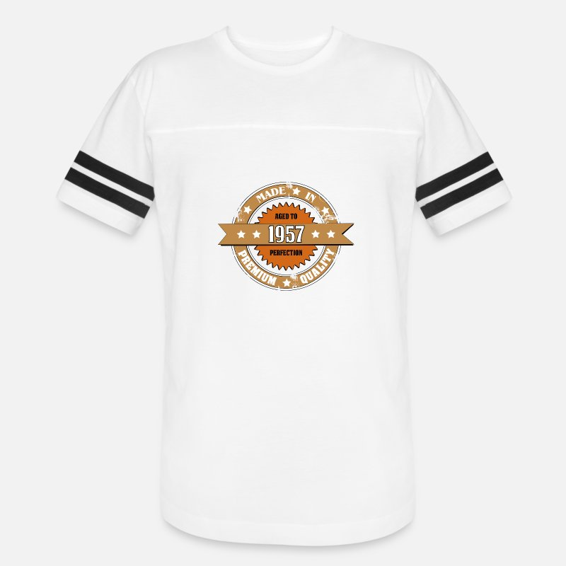 Christmas T-Shirts - Made in 1957 - Unisex Vintage Sport T-Shirt white/black