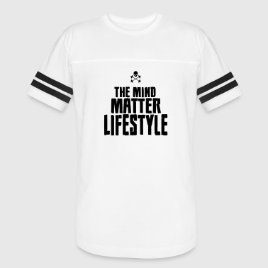 THE MIND MATTER LIFESTYLE BLACK - Vintage Sport T-Shirt