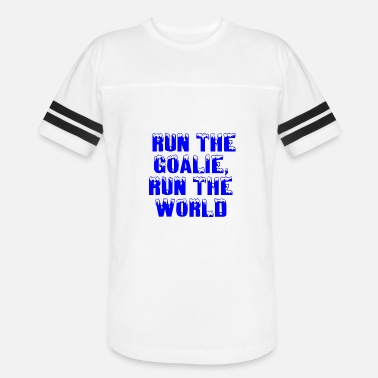 Running Queen RUN THE GOALIE RUN THE WORLD - Vintage Sport T-Shirt