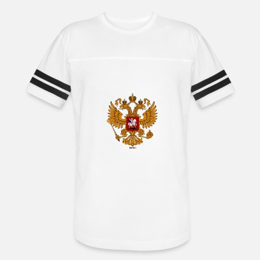 Two-headed RUSKI - Unisex Vintage Sport T-Shirt