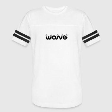 wave waving - Vintage Sport T-Shirt