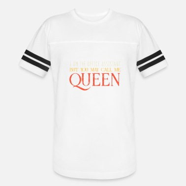 Queen Of The Office Office Assistant Queen Secretary Administrative - Vintage Sport T-Shirt