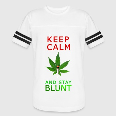 Keep Calm Stay Blunt - Vintage Sport T-Shirt