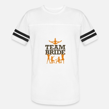 Custom Team Bride Team Bride! - Vintage Sport T-Shirt