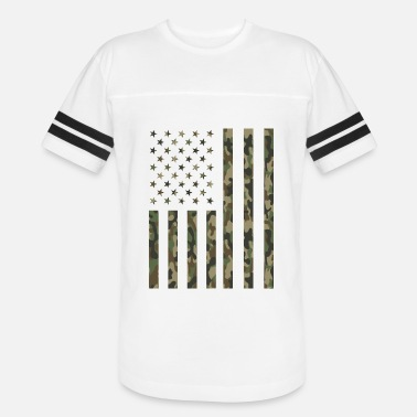 Disabled Veteran Patriotic Military Army Veteran Camouflage Camo - Vintage Sport T-Shirt
