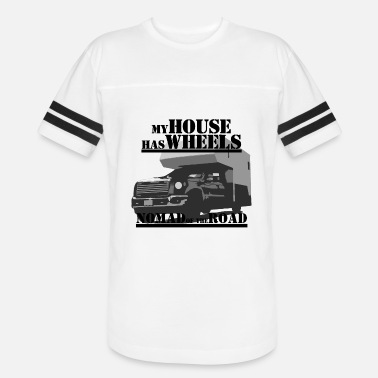 Nomad of the road - Unisex Vintage Sport T-Shirt