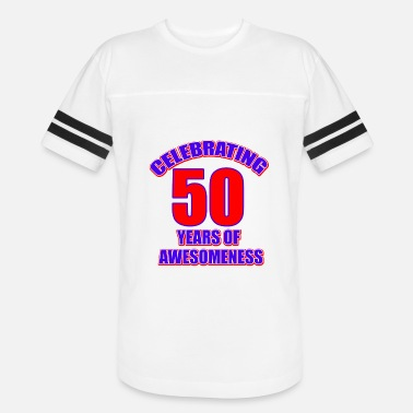50th Year Birthday Designs 50th birthday design - Vintage Sport T-Shirt