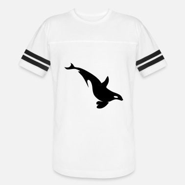 Free Willy orca whale diving - Unisex Vintage Sport T-Shirt
