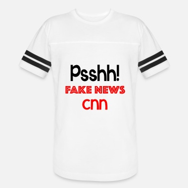 Cnn Fake News CNN t shirt - Vintage Sport T-Shirt