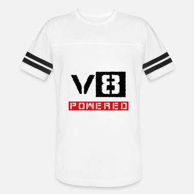 V8 Power V8 powered red - Vintage Sport T-Shirt