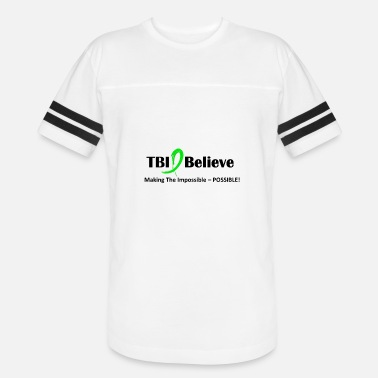 Traumatic TBI Awareness - Vintage Sport T-Shirt