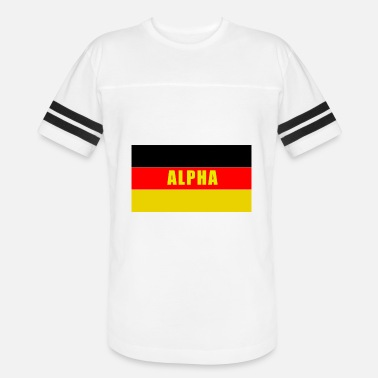 Alpha Beast German Alpha yellow - Vintage Sport T-Shirt