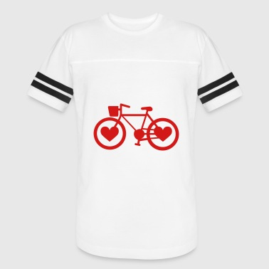 Love To Bike Bike Love - Vintage Sport T-Shirt