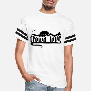 crowd love - Unisex Vintage Sport T-Shirt