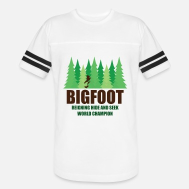 Heavyweight Bigfoot Sasquatch Hide and Seek World Champion - Unisex Vintage Sport T-Shirt