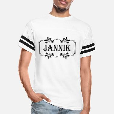 Jannik First name Jannik man boy guy gift - Unisex Vintage Sport T-Shirt