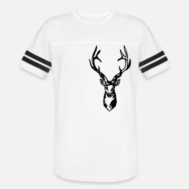Red Deer Deer - Roe deer - Red deer - Hunting - Unisex Vintage Sport T-Shirt