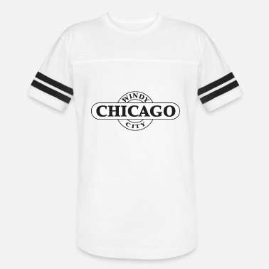 Windy Chicago - Windy City - Unisex Vintage Sport T-Shirt