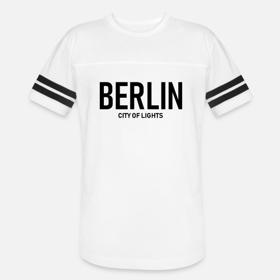 Alexanderplatz T-Shirts - Berlin - City of Lights - Germany - Deutschland - Unisex Vintage Sport T-Shirt white/black