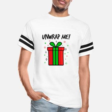 Unwrapping Unwrapping Saying Unwrap Me Present Gift - Unisex Vintage Sport T-Shirt