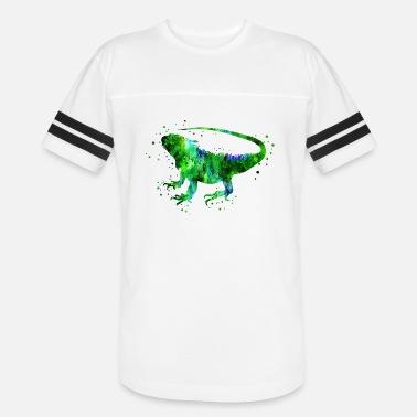 988de40ee Iguanas Iguana, green iguana, iguana poster - Unisex Vintage Sport T-Shirt