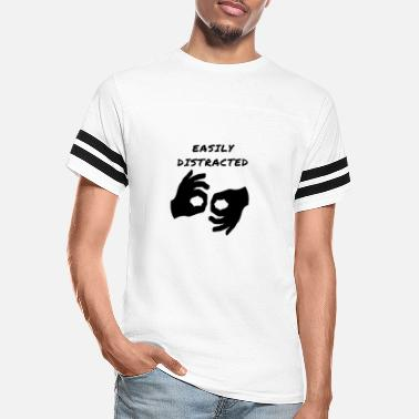 Easily Distracted Circle Game - Unisex Vintage Sport T-Shirt