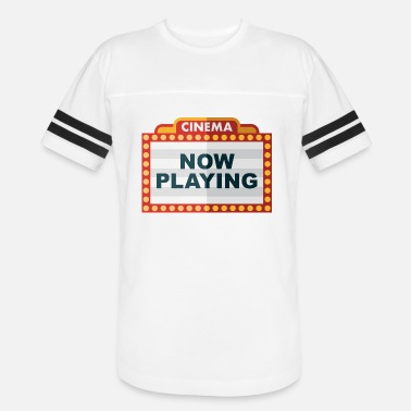 Marquee Theatre Marquee Sign - Unisex Vintage Sport T-Shirt