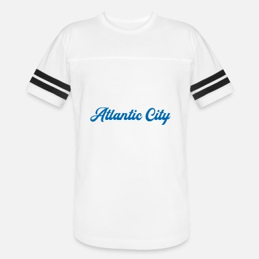 Atlantic ATLANTIC CITY - Unisex Vintage Sport T-Shirt