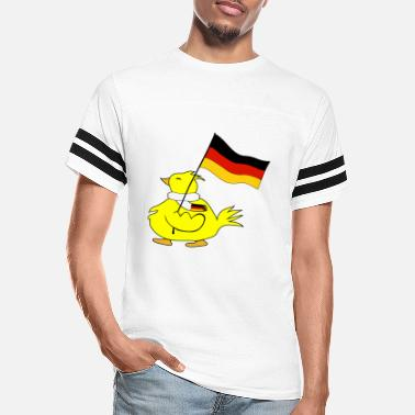 Flag Of Germany flag of germany - Unisex Vintage Sport T-Shirt