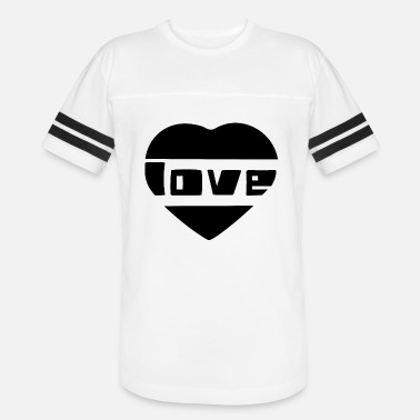 Love With Heart love with heart - Unisex Vintage Sport T-Shirt