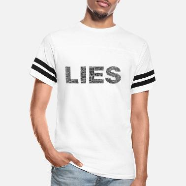 Truth Truth N Lies Two Black - Unisex Vintage Sport T-Shirt