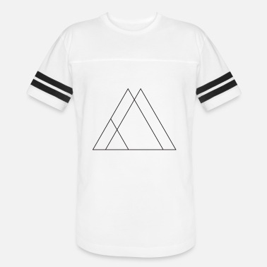 Symbols Shapes Triangle symbols shapes - Unisex Vintage Sport T-Shirt