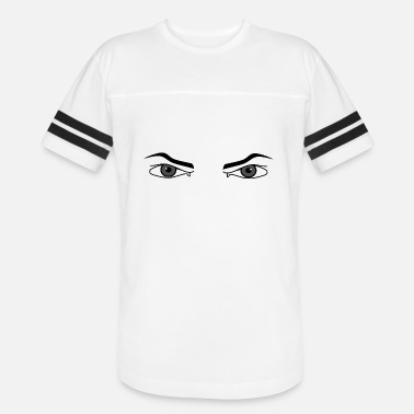 Bad Look Bad look. Evil eyes male intimidating - Unisex Vintage Sport T-Shirt