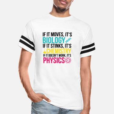 Science Student Science chemistry quote student school gift - Unisex Vintage Sport T-Shirt
