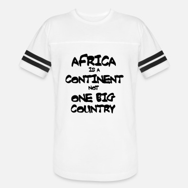 Continent Africa Is A Continent - Unisex Vintage Sport T-Shirt